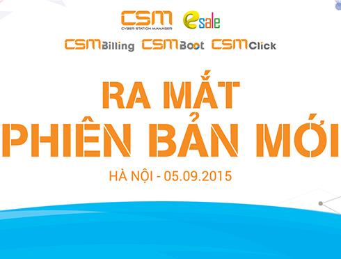 [THÔNG BÁO] CSM tổ chức buổi giới thiệu phiên bản mới tại Hà Nội